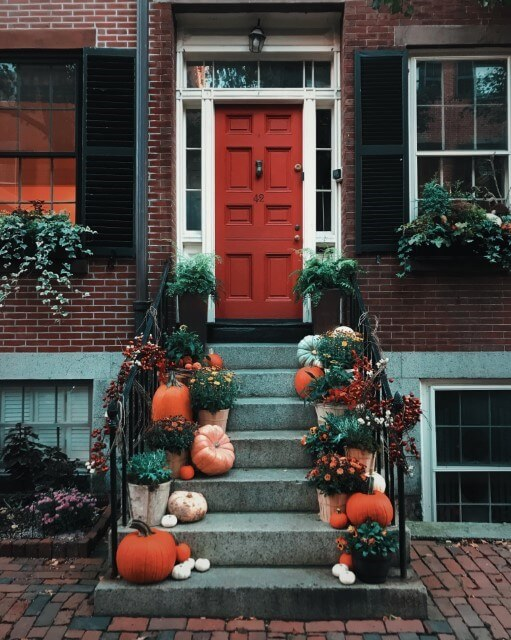 Blend In Decorate Your Doorstep for Fun this Halloween