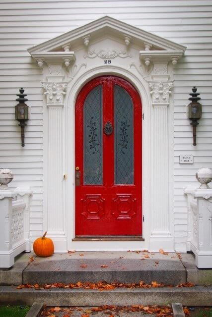 Minimalist Decorate Your Doorstep for Fun this Halloween